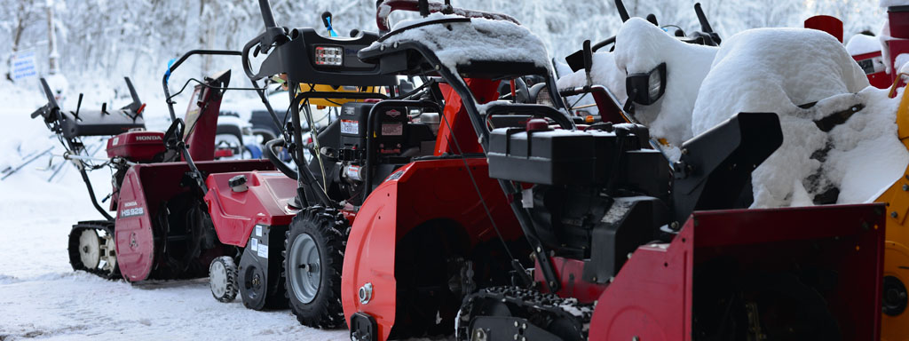 We repair, sell and maintain snow blowers and always have a large selection of snow blowers on hand for sale.