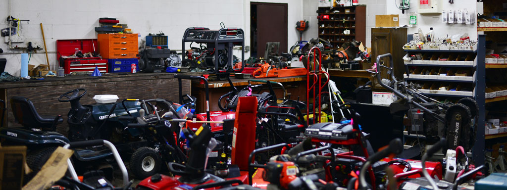 Only 15 minutes from Anchorage, Alaska; come see our extensive small engine power equipment for sale or drop off your small engine for repair.